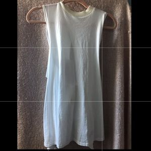 Urban outfitters white muscle tee